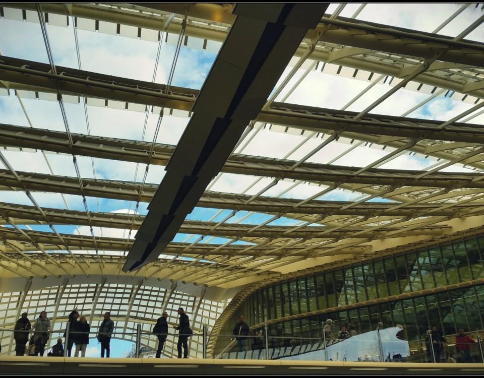 la canopée des Halles 2