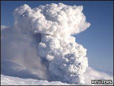 il vulcano islandese Eyjafjallajökull